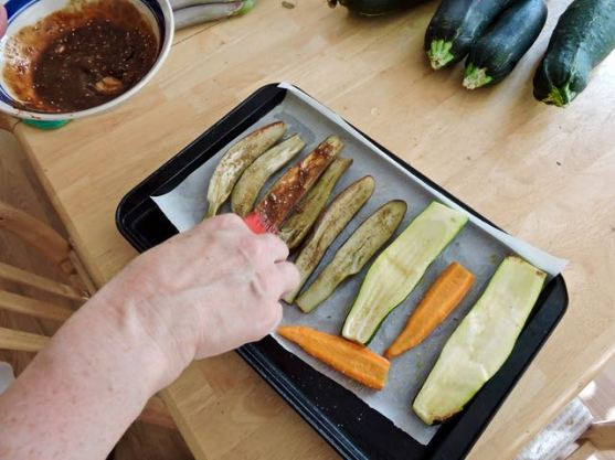 kitchen-jean-glazes-veggies-w-miso-mixture-1