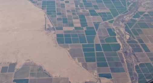 water irrigation vs desert east of san diego - 1